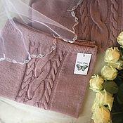 Одежда ручной работы. Ярмарка Мастеров - ручная работа Кашемировый восхитительный костюм свитер и юбка. Handmade.