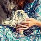 """Свадебные цветы ручной работы. Букет из ракушек """"Бирюза"""". Елена. Интернет-магазин Ярмарка Мастеров. Букет из ракушек, букет невесты"""