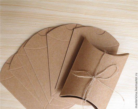 Упаковка ручной работы. Ярмарка Мастеров - ручная работа. Купить Коробочка для упаковки крафт. Handmade. Бежевый, коробка для упаковки