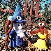 Мягкие игрушки ручной работы. Ярмарка Мастеров - ручная работа Колдун и Ученик, вязаная игрушка. Handmade.