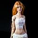Аврора, авторская шарнирная кукла бжд из полиуретана. doll art bjd.