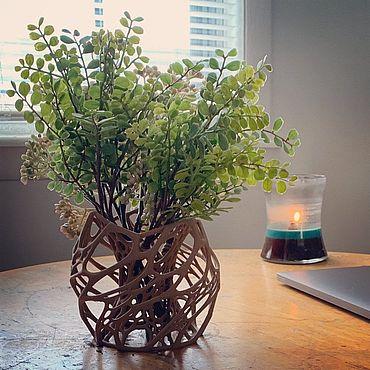 Flowers and floristry handmade. Livemaster - original item flower pot. Handmade.
