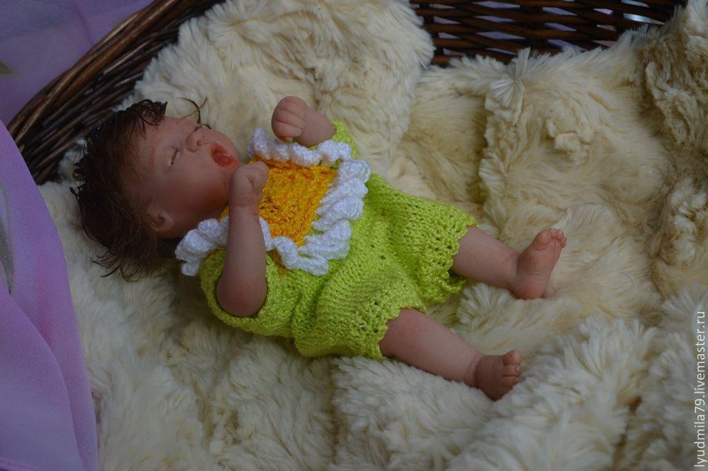 Little flower doll reborn, Reborn, Moscow,  Фото №1
