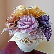 Букеты ручной работы. Ярмарка Мастеров - ручная работа Розы в греческом стиле. Handmade.