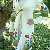 """Одежда ручной работы. Ярмарка Мастеров - ручная работа Кардиган """"Дыхание лета"""". Handmade."""