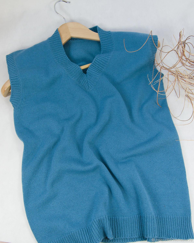 vests: Straight Classic Cashmere Vest, Vests, Ulyanovsk,  Фото №1