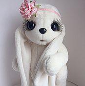 Куклы и игрушки ручной работы. Ярмарка Мастеров - ручная работа Тедди зайка Милашка. Handmade.