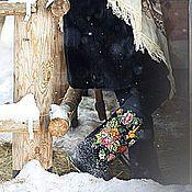 """Обувь ручной работы. Ярмарка Мастеров - ручная работа По мотивам работ """"Жостово"""". Handmade."""
