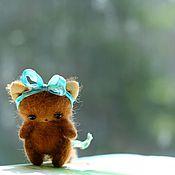 Куклы и игрушки ручной работы. Ярмарка Мастеров - ручная работа Отчего котенок плакал?. Handmade.