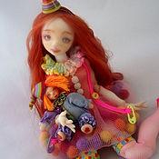 Куклы и игрушки ручной работы. Ярмарка Мастеров - ручная работа Мармеладка. Шарнирная кукла. Handmade.