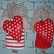 Подарки к праздникам ручной работы. Ярмарка Мастеров - ручная работа Ангел с сердцем. Handmade.
