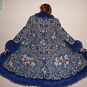 """Одежда ручной работы. Ярмарка Мастеров - ручная работа Зимнее пальто """" Звёздная ночка"""". Handmade."""