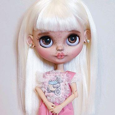 Куклы и игрушки ручной работы. Ярмарка Мастеров - ручная работа Кукла блайз кастом в наличии. Handmade.