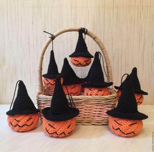 Сказочные персонажи ручной работы. Ярмарка Мастеров - ручная работа. Купить Halloween Амигуруми тыква (Хэллоуин тыква). Handmade. Рыжий