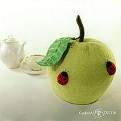 Посуда handmade. Livemaster - original item Apple - warmer kettle on, a useful kitchen decor. Handmade.