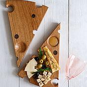 Посуда handmade. Livemaster - original item The cheese Board is improved. Handmade.