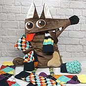 Мягкие игрушки ручной работы. Ярмарка Мастеров - ручная работа Мягкая игрушка органайзер Собака Бобик. Handmade.