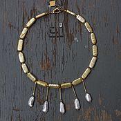Украшения handmade. Livemaster - original item Beads necklace