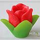 """Мыло ручной работы. Ярмарка Мастеров - ручная работа. Купить Мыло """"Аленький цветочек"""". Handmade. Мыло цветок, аленький цветочек"""