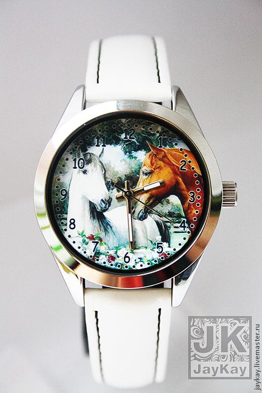 Часы ручной работы. Ярмарка Мастеров - ручная работа. Купить Часы наручные JK Маленький корпус. Handmade. Наручные часы