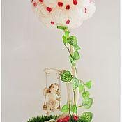 """Цветы и флористика ручной работы. Ярмарка Мастеров - ручная работа Топиарий """"Белое облако"""". Handmade."""