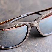 Деревянные очки полариз