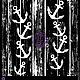 Открытки и скрапбукинг ручной работы. Маска для штампинга Якорь 572204. Хобби Лаб (hobbylab2). Интернет-магазин Ярмарка Мастеров. Трафарет