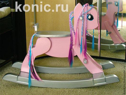 Игрушки животные, ручной работы. Ярмарка Мастеров - ручная работа. Купить Лошадка качалка, Май Литл Пони (My Little Pony). Handmade.