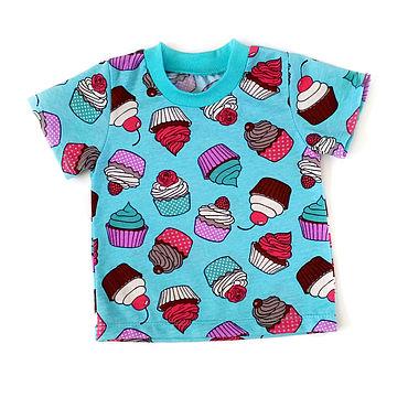 Одежда ручной работы. Ярмарка Мастеров - ручная работа CapsulaKids футболка. Handmade.