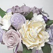 Цветы и флористика handmade. Livemaster - original item Wedding bouquet Tenderness. Flowers polymer clay handmade.. Handmade.