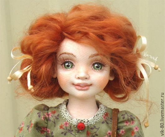 Коллекционные куклы ручной работы. Ярмарка Мастеров - ручная работа. Купить Полина. Handmade. Рыжий, кукла ручной работы