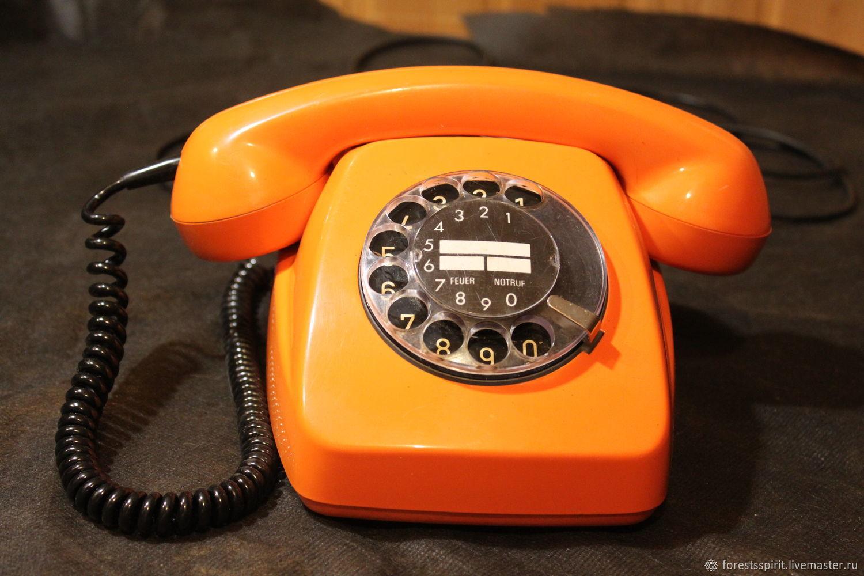 Винтаж: Дисковый телефон POST FeTAp модель 611-2, Электроника винтажная, Парфино,  Фото №1