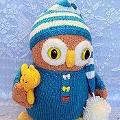 Куклы и игрушки ручной работы. Ярмарка Мастеров - ручная работа сова- сплюшка. Handmade.