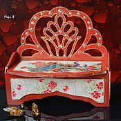 Фен-шуй и эзотерика handmade. Livemaster - original item Box according to Feng Shui to attract love Feng Shui for love and marriage. Handmade.