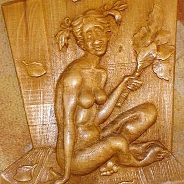 """Для дома и интерьера ручной работы. Ярмарка Мастеров - ручная работа Панно для бани """"Ай да банька"""". Handmade."""