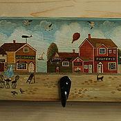 Для дома и интерьера ручной работы. Ярмарка Мастеров - ручная работа приморский городок. Handmade.