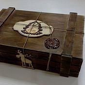 Сувениры и подарки ручной работы. Ярмарка Мастеров - ручная работа Ящик подарочный. Handmade.