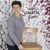 Одежда ручной работы. Ярмарка Мастеров - ручная работа Пуловер, свитер  вязаный женский. Handmade.