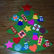 Куклы и игрушки handmade. Livemaster - original item Christmas tree - dressing up for Santa Claus and animators. Handmade.