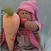 """Куклы и игрушки ручной работы. Ярмарка Мастеров - ручная работа Заяц """"сплюшка Сонечка"""". Handmade."""