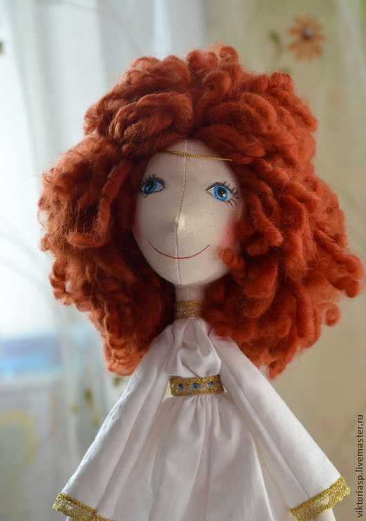Коллекционные куклы ручной работы. Ярмарка Мастеров - ручная работа. Купить Текстильная кукла. Handmade. Текстильная кукла, 100% шерсть