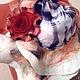 """Комплекты аксессуаров ручной работы. Комплект шарф и брошь """"Рыжик"""". Виктория Гайнутдинова (Viktoria-perm). Ярмарка Мастеров. Валяный шарф"""