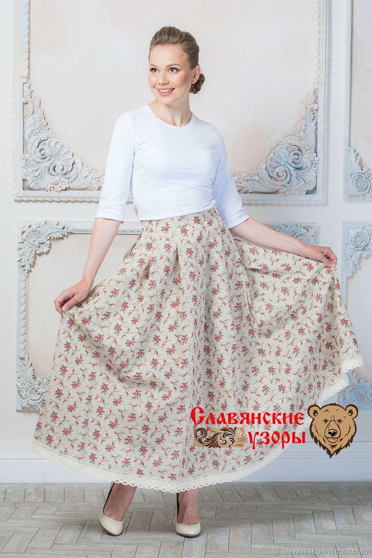 49f5754355f Vintage linen skirt