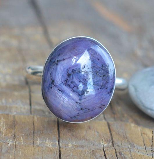 Кольца ручной работы. Ярмарка Мастеров - ручная работа. Купить Кольцо с звездчатым рубином, серебро. Handmade. Драгоценные камни