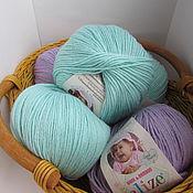 Материалы для творчества ручной работы. Ярмарка Мастеров - ручная работа Пряжа Alize Baby wool. Handmade.