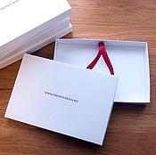 Сувениры и подарки ручной работы. Ярмарка Мастеров - ручная работа Коробки с вашим логотипом. Handmade.