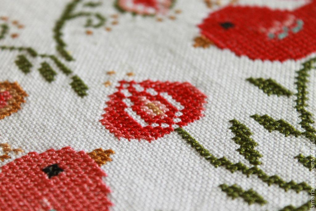 Ваза с цветами схемы вышивки бесплатно