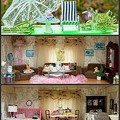 """Куклы и игрушки ручной работы. Ярмарка Мастеров - ручная работа """"Кукольный домик"""" ручной работы. 3 этажа. Возможна оплата в рассрочку.. Handmade."""