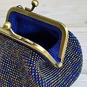 Вязание бисером кошелек с фермуаром 75