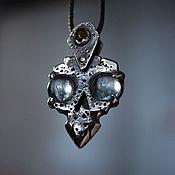 Украшения handmade. Livemaster - original item Pendant: Shield Head Suspension. Handmade.
